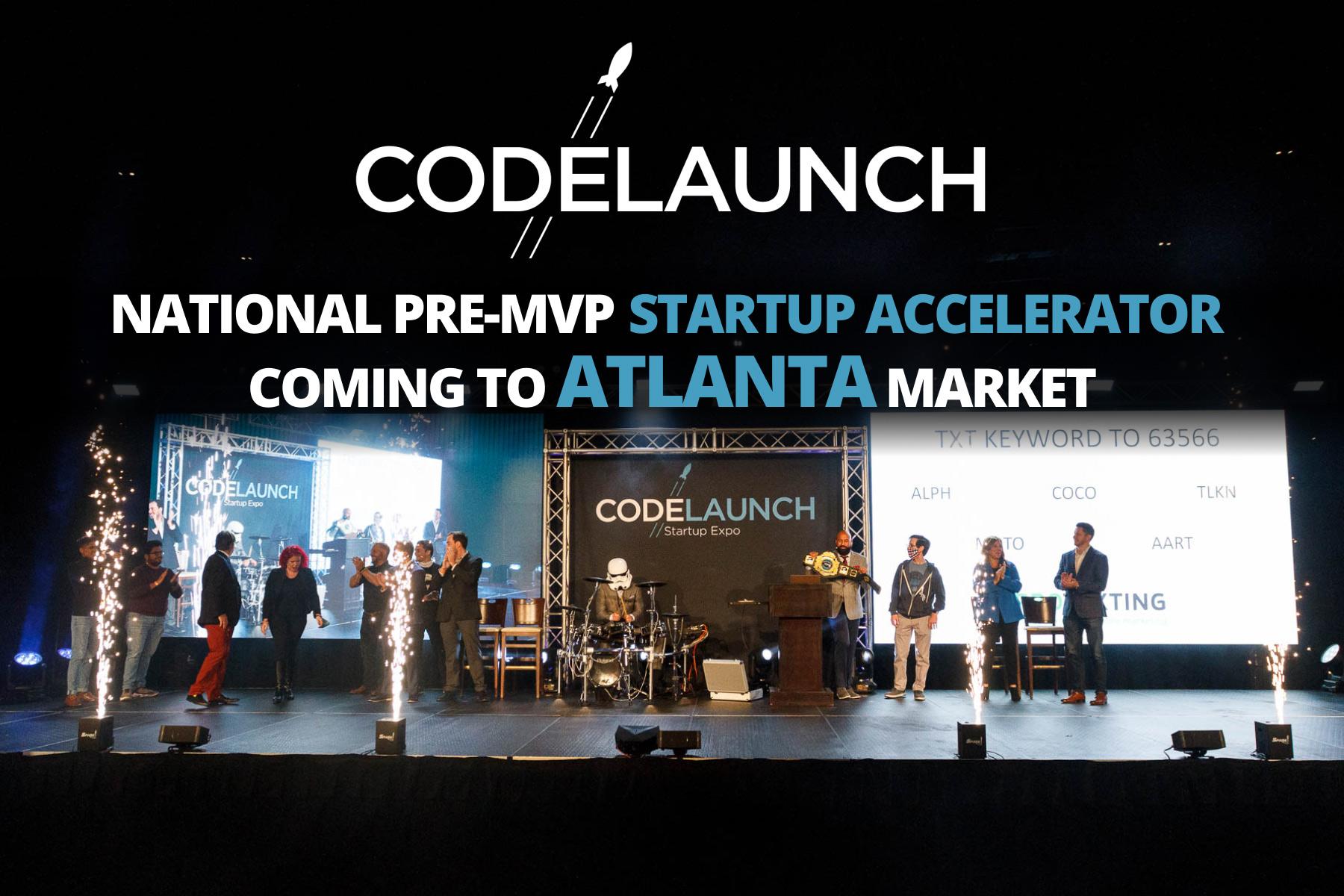 National Pre-MVP Startup Accelerator Coming to Atlanta Market